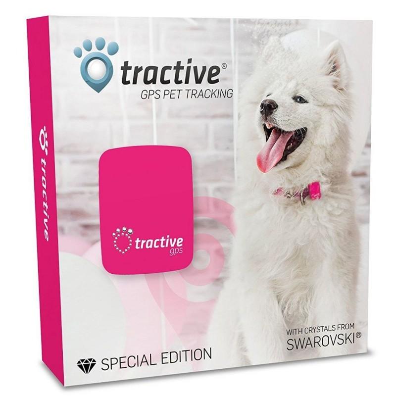 Lokalizator Tractive SWAROVSKI GPS dla zwierząt domowych