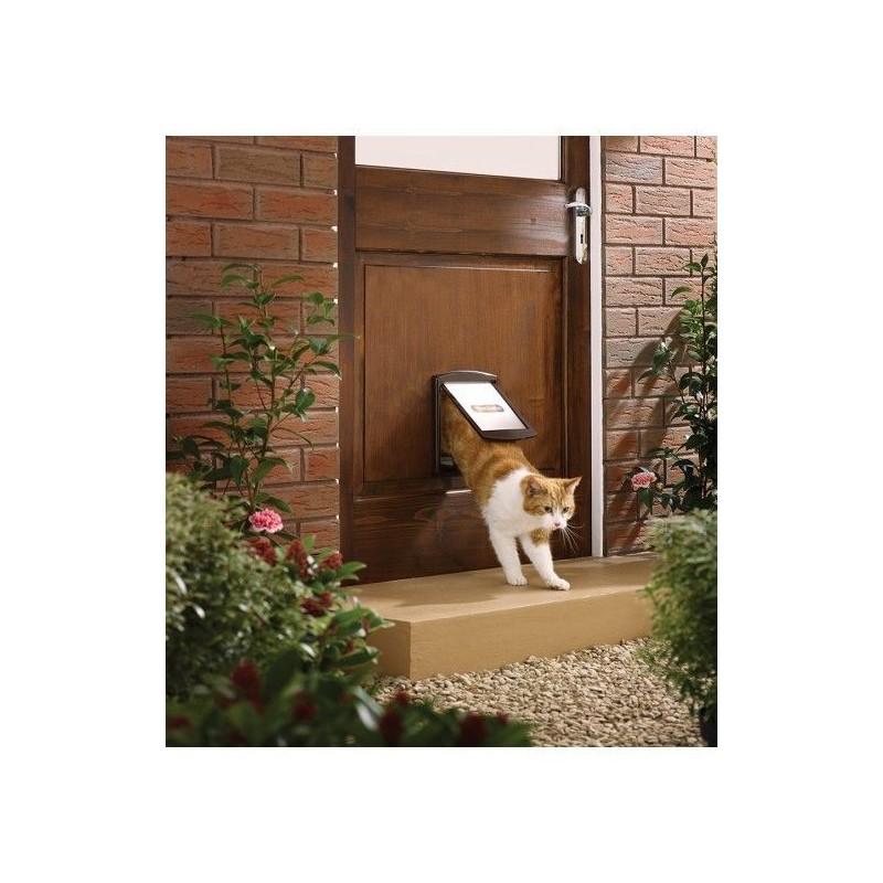 Drzwi dla psów i kótow Staywell 730, Brązowy S