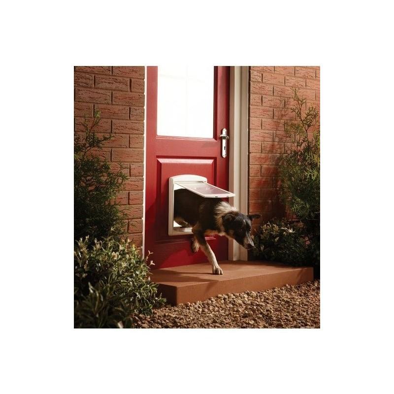 Drzwi dla psów Staywell 740, biały M