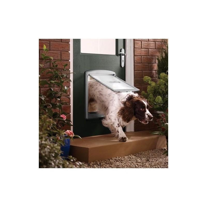 Drzwi dla psów Staywell 777, Srebrny L