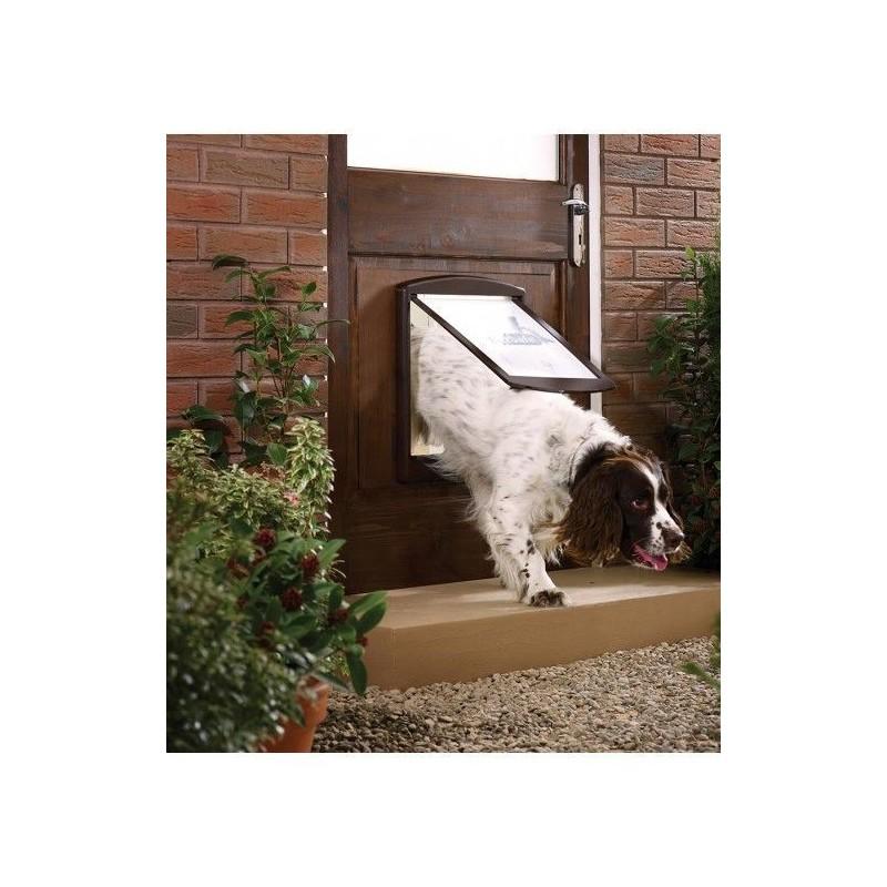Drzwi dla psów Staywell 775, brązowy M
