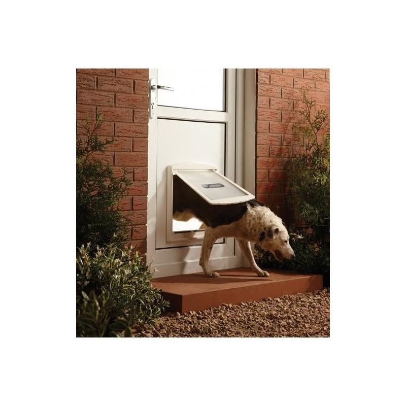 Drzwi dla psów Staywell 760, biały L