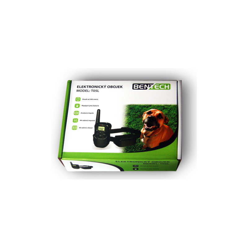 Elektronický výcvikový obojek BENTECH T05L