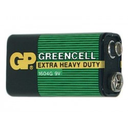 Bateria GP Greencell 9V