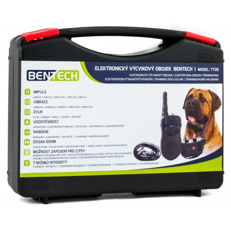 Elektyczna obroża treningowa BENTECH T728