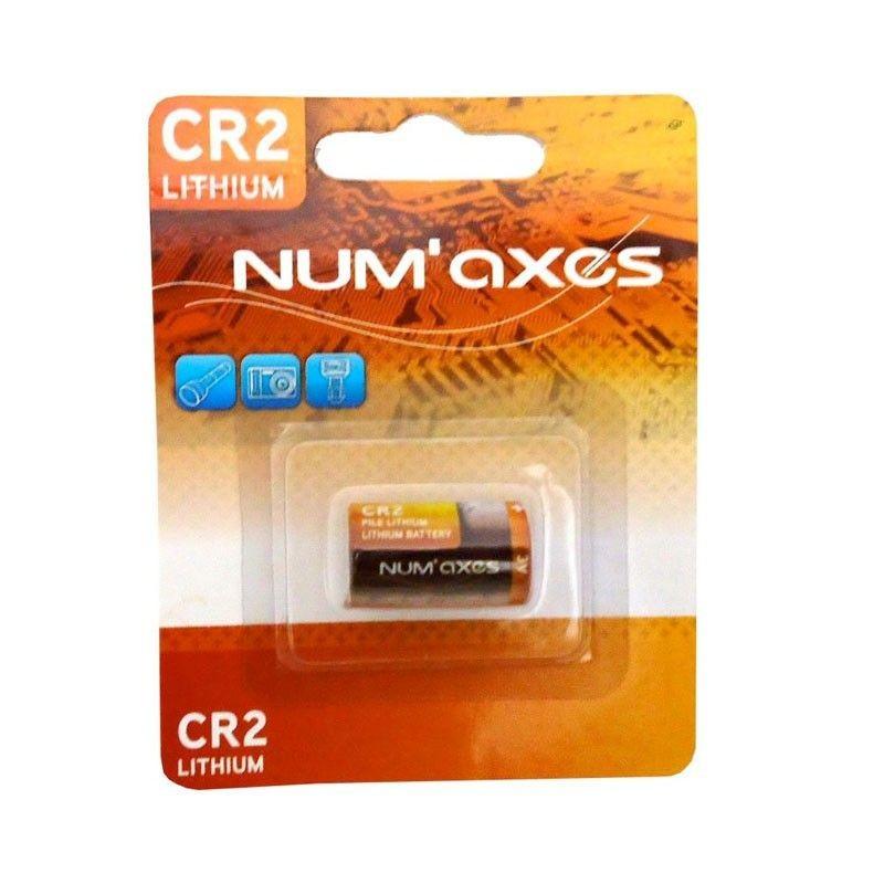 Bateria litowa Num'Axes 3V CR2